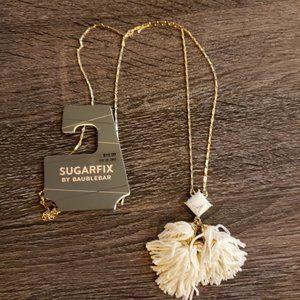 NEW! SUGARFIX by BaubleBar Tassel Pendant Necklace